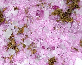 Mugwort & Bergamot Herbal Bath Salts