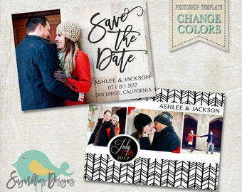 Wedding Announcement Templates and Save the Date - Wedding Announcement 23