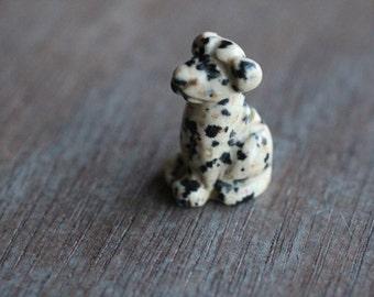 Dalmatian Jasper Stone Dog F8