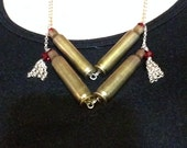 Confirmed Kills Bullet Casing Statement Necklace 15