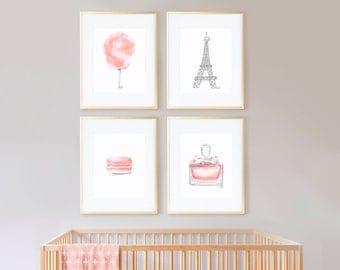Sweet Blush with Gray Eiffel