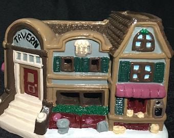 Christmas village -Tavern