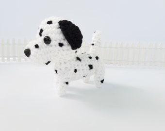 Plush Dalmatian Toy. Dalmatian Stuffed Animal. Stuffed Dalmatian Animal. Dog Lover Gift.