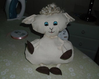 Floppy little lamb, Easter Lamb, Stuffed Lamb