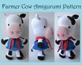 Farmer Cow Amigurumi Pattern