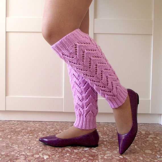 Simple Knitting Pattern For Leg Warmers : KNITTING PATTERN Legwarmers Daisy Legwarmers socks leg