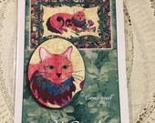 Cat Quilt Pattern, New, Quilt Poetry