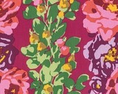 Eternal Sunshine by Amy Butler for Free Spirit - Rose Vine - Wine - 1/2 Yard Cotton Quilt Fabric 816