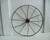 Rusty Metal Wheel