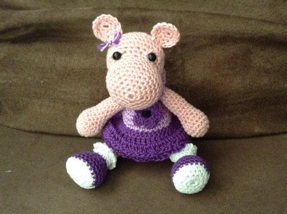 Crochet Girl Hippo