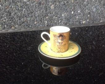Vintage Goebel Gustav Klimt Adele Bloch-Bauer caffe cup