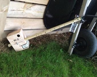 MJ 12 Bow - Saner Cigar Box Guitars