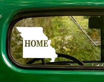 Missouri Decal, Car Decal, State Sticker, Laptop Sticker, Missouri Sticker, Bumper sticker, Vinyl Decal, Car Stickers