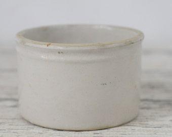 Vintage Stoneware Crock Vintage Butter Crock Stoneware Crock Stoneware Bowl