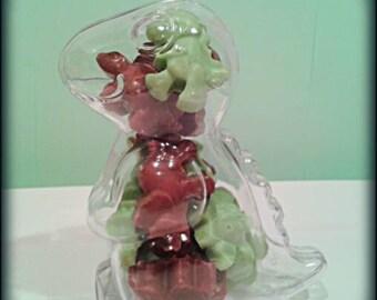 Chocolate dinosaur stocking filler