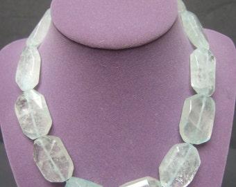 Chunky Glass Crystal Choker Necklace