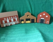 CATS MEOW Farm Country Themed Plagues Large Lot Display Decor Feline Collectibles More than pictured Rustic Nature Rural Life