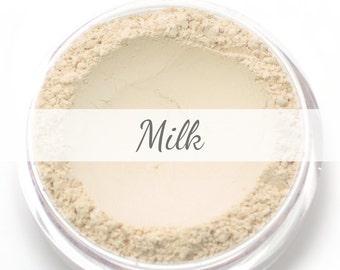 "Mineral Wonder Powder Foundation Sample - ""Milk"" - very light shade with a neutral undertone - vegan makeup"