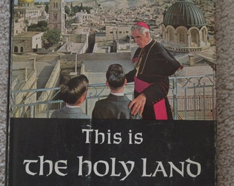 This Is the Holy Land, vintage book
