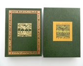 The Hobbit by J.R.R. Tolkien. Rare Leatherbound Illustrated Edition with Slipcase.