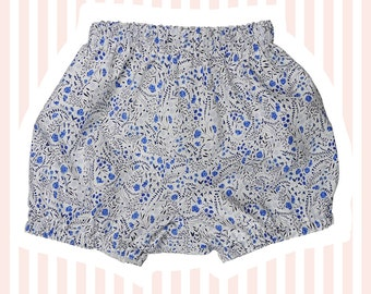Liberty of London Bubble Shorts   Mini Bloomers for Baby   Lillian's Berries