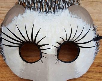 Hedgehog mask, porcupine mask