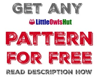 How to get LittleOwlsHut pattern for free (read description)