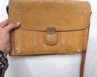 Vintage leather bag handbad retro leather bag