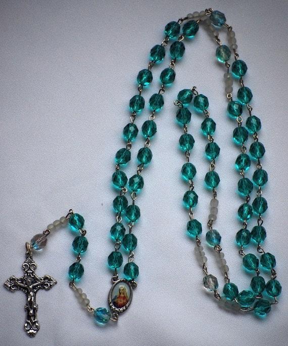 Aqua Rosary