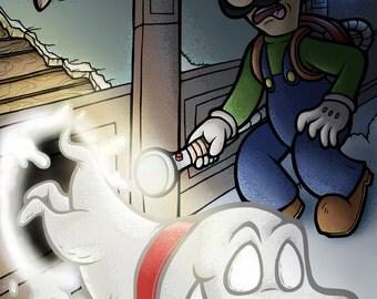 Luigi's Mansion 11x17 Poster