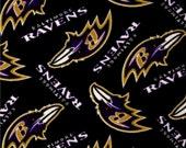 Adult Double Sided Fleece Blanket (Tied Edges) Washington Redskins & Baltimore Ravens