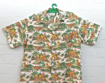 Retro Honolulu Beachwear Hawaiian Shirt