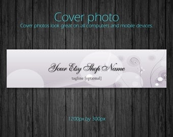 Etsy Shop Photo Cover Banners - 1200px by 300px - Made to Order