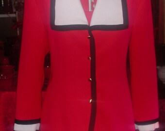 Vintage Designer Jacket By Anthony Sicari Size 12