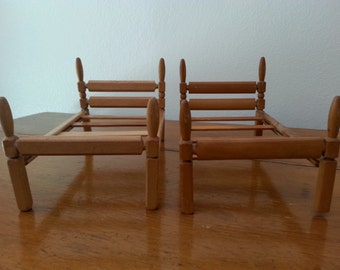 Mid Century  STROMBECKER Twin Beds for Doll House