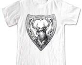 Deer Antlers Forest Animals T-shirt Women Men Children Small, Medium, Large, XL