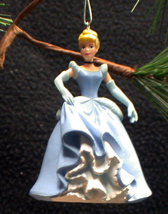 Clearance sale cinderella christmas tree ornament figure for Christmas ornament sale clearance