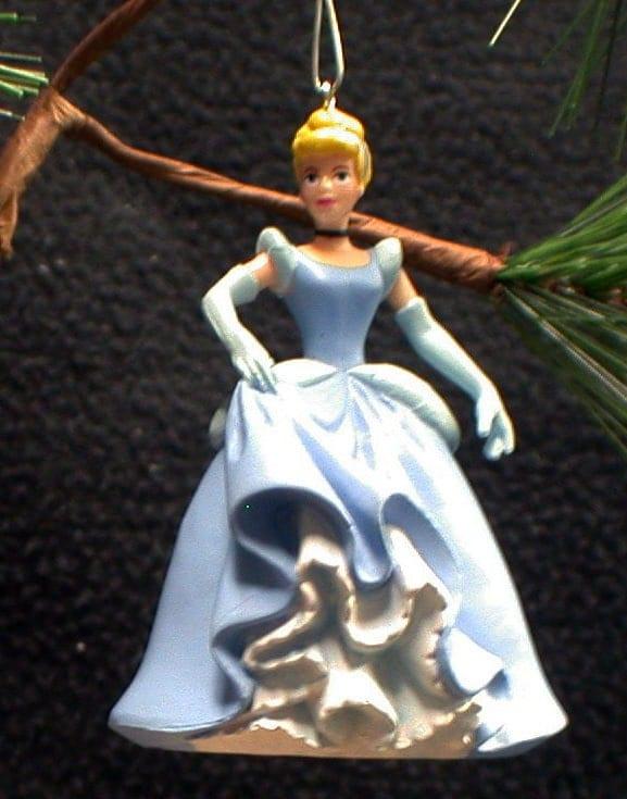 Clearance sale cinderella christmas tree ornament figure for Christmas ornament sale clearance