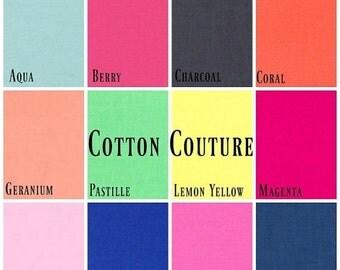 ON SALE Michael Miller - 2 FAT Quarter Bundle Cotton Couture (Pick your own colours)