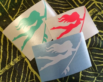 NEW Decals! Fluorescent Pink, Mint and White