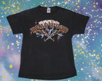DEADWOOD Western T-Shirt Men's Size M