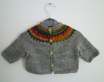 baby sweaters,baby gift,knit baby cardigan, free shipping