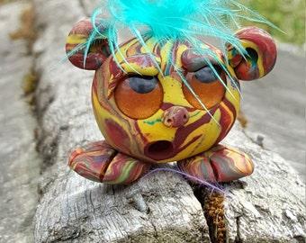 One of a kind polymer clay ARAartisticcreations Fantasy Flunk creation