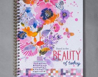 Medium Spiral Journal - Paintbox