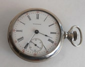 1906 American Waltham Size 18 Lever set Pocket Watch, Works and Keeps time