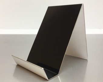 Black Vertical Aluminum Card Holder