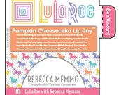 LuLaRoe, Lip Balm, 36 tubes, Chapstick, personalized, Label, Lularoe Consultant, Promotional, Advertising, Materials, Unicorn, Branding