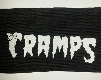 CRAMPS Punk Patch - black canvas