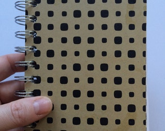 Spotted Scrap journal - 5 x 4 spiral bound