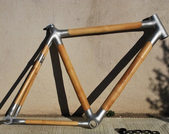 Bamboo bicycle single speed frame